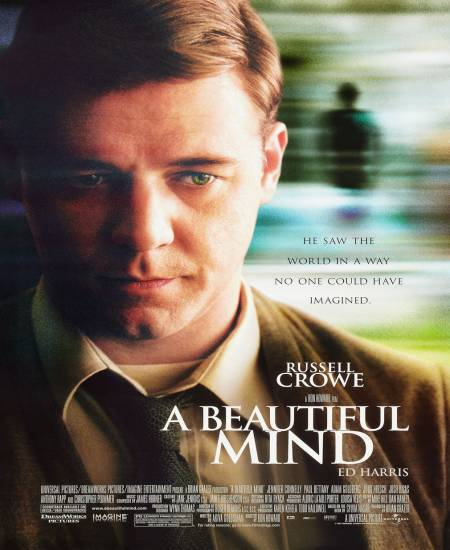A Beautiful Mind (2001) Hindi Dual Audio 480p BluRay 280MB ESubs x264 Download