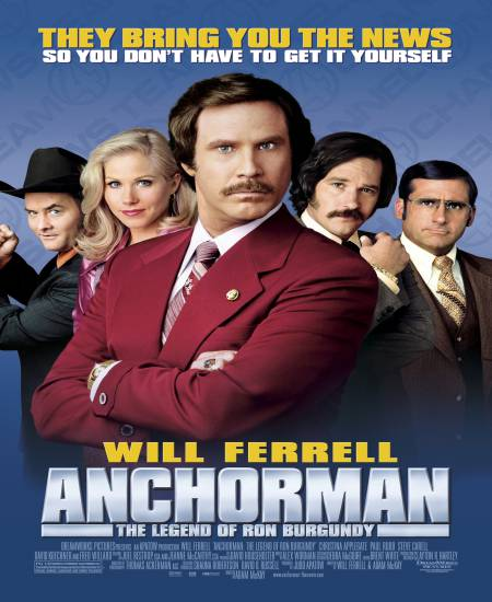 Anchorman The Legend of Ron Burgundy (2004) Hindi Dual Audio 480p UNRATED BluRay 300MB ESubs x264 Download
