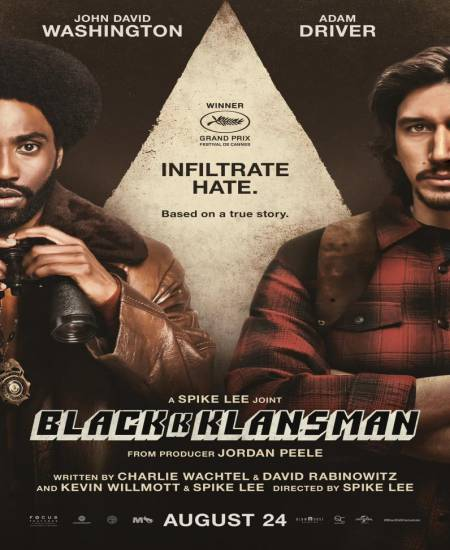 BlacKkKlansman (2018) Hindi ORG Dual Audio 480p BluRay 420MB ESubs x264 Download