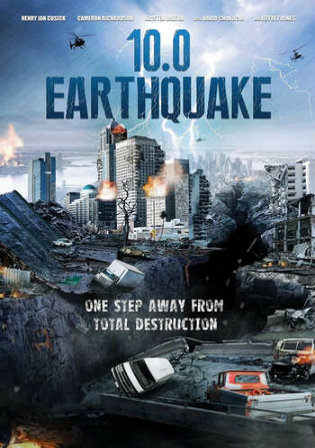 10.0 Earthquake 2014 BRRip 300Mb Hindi Dual Audio 480p