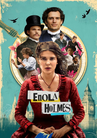 Enola Holmes 2020 WEB-DL 950Mb Hindi Dual Audio ORG 720p