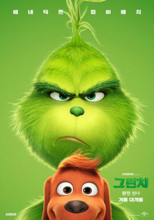 The Grinch 2018 BRRip 300Mb Hindi Dual Audio ORG 480p