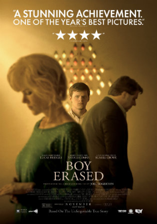 Boy Erased 2018 BRRip 400Mb Hindi Dual Audio ORG 480p