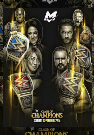 WWE Clash Of Champions 2020 WEBRip 700Mb PPV 480p