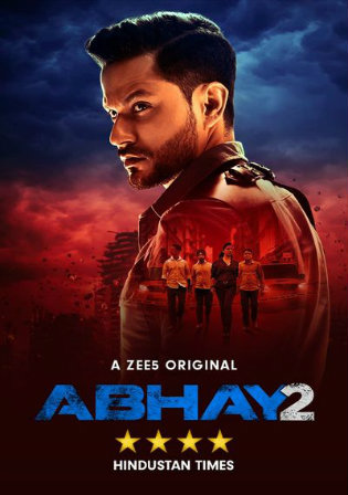 Abhay 2020 WEB-DL 1.5GB Hindi S02 Complete Download 720p Watch Online Free Bolly4u.org