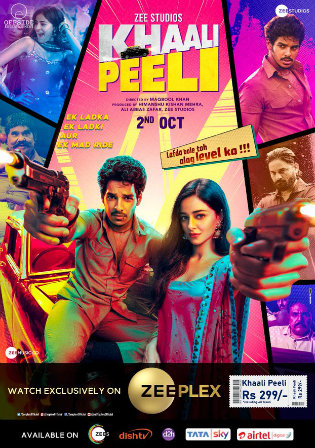Khaali Peeli 2020 WEB-DL 900Mb Hindi Movie Download 720p
