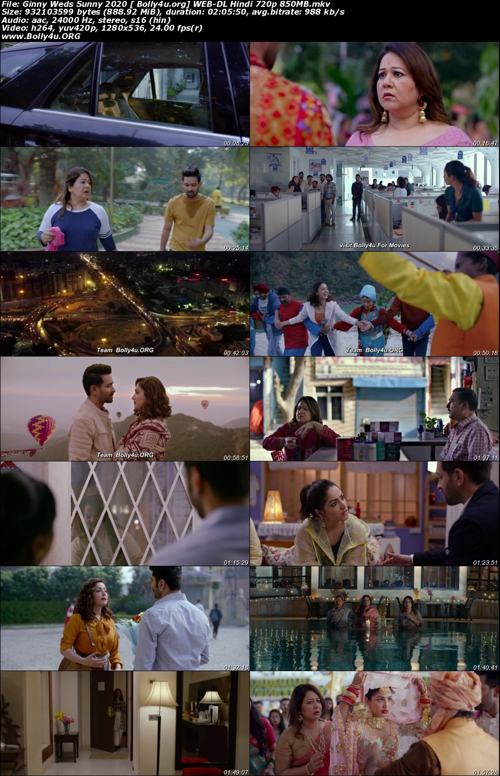 Ginny Weds Sunny 2020 WEB-DL 300Mb Hindi Movie Download 480p