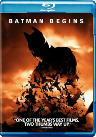 Batman Begins 2005 BRRip 500Mb Hindi Dual Audio 480p
