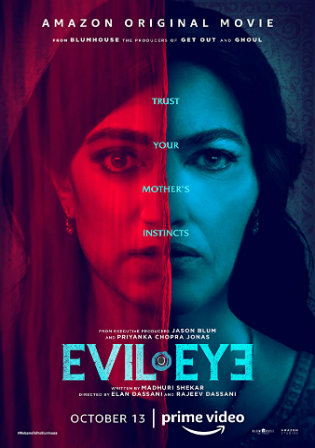 Evil Eye 2020 WEB-DL 300Mb Hindi Dual Audio 480p Watch Online Full Movie Download bolly4u