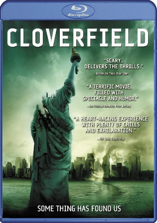 Cloverfield 2008 BRRip 300Mb Hindi Dual Audio 480p