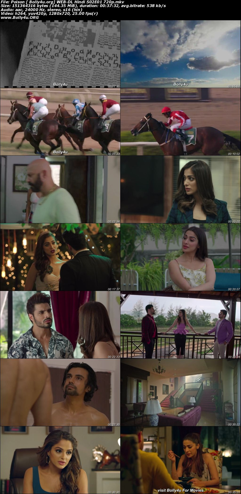 Poison 2020 WEB-DL Hindi Complete S02 Download 720p