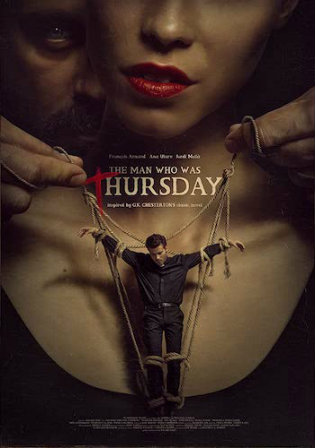 The Man Who Was Thursday 2016 WEBRip 300Mb UNCUT Hindi Dual Audio 480p