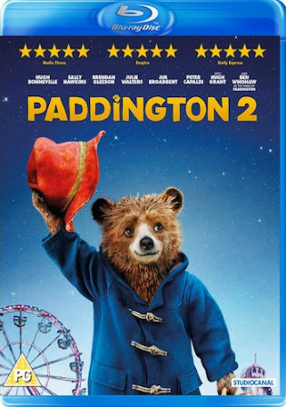 Paddington 2 2017 BRRip 300Mb Hindi Dual Audio ORG 480p