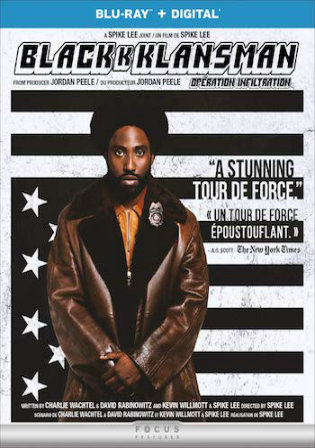 BlacKkKlansman 2018 BRRip 1GB Hindi Dual Audio 720p