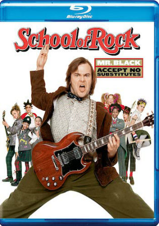 School of Rock 2003 WEB-DL 300MB Hindi Dual Audio 480p