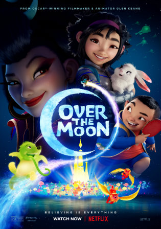 Over The Moon 2020 WEB-DL 750Mb Hindi Dual Audio 720p