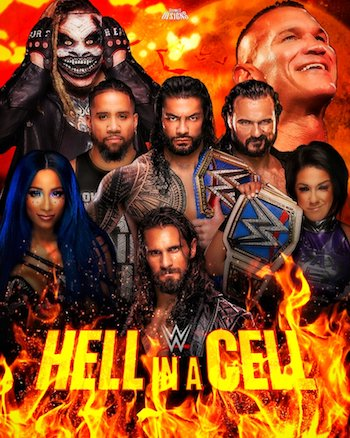 WWE Hell In A Cell 2020 WEBRip 700MB PPV 480p x264