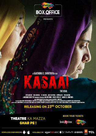 Kasaai 2020 WEB-DL 300MB Hindi Movie Download 480p