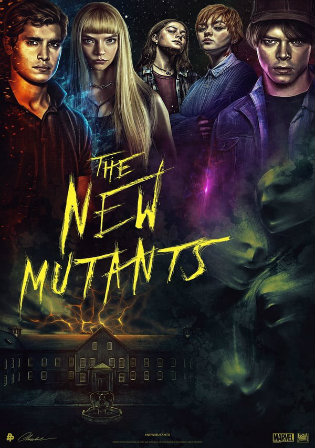 The New Mutants 2020 BRRip 950MB English 720p ESub Watch Online Full Movie Download bolly4u