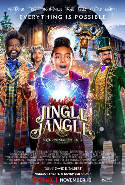 Jingle Jangle A Christmas Journey (2020) WEB-DL Dual Audio [Hindi & English] 720p & 480p x264 HD | Full Movie