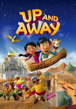 Up And Away 2018 WEBRip 850MB Hindi Dual Audio 720p Watch Online Full Movie Download bolly4u