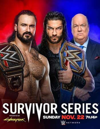 WWE Survivor Series (2020) PPV WEBRip 720p & 480p x264 | Full Show