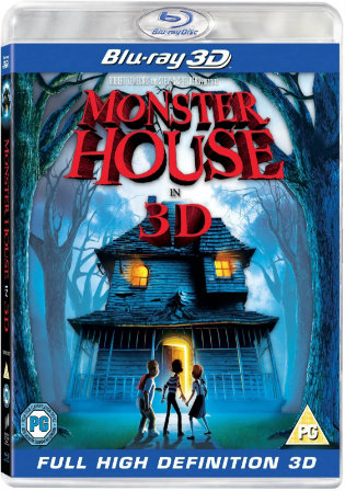 Monster House 2006 BluRay 300Mb Hindi Dual Audio 480p