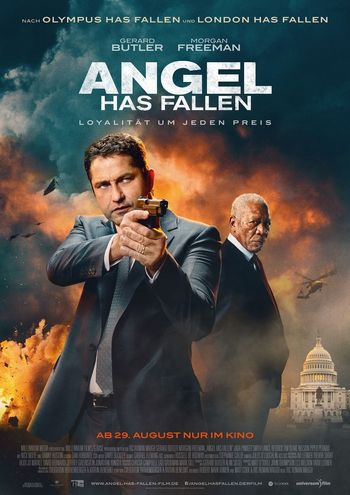 Angel Has Fallen (2019) BluRay Dual Audio [Hindi (ORG 2.0) & English] 1080p 720p 480p [x264/HEVC] HD | Full Movie