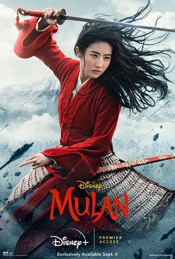 Mulan (2020) BluRay Dual Audio [Hindi (ORG 5.1) & English] 1080p 720p 480p [x264/HEVC] HD | Full Movie
