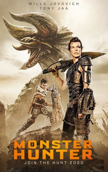 Monster Hunter (2020) Hindi BluRay Dual Audio [Hindi (ORG DD2.0) & English] 1080p / 720p / 480p x264 HD | Full Movie