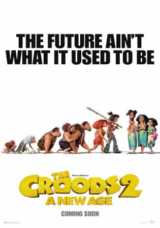 The Croods a New Age 2020 WEB-DL 300Mb English 480p ESub