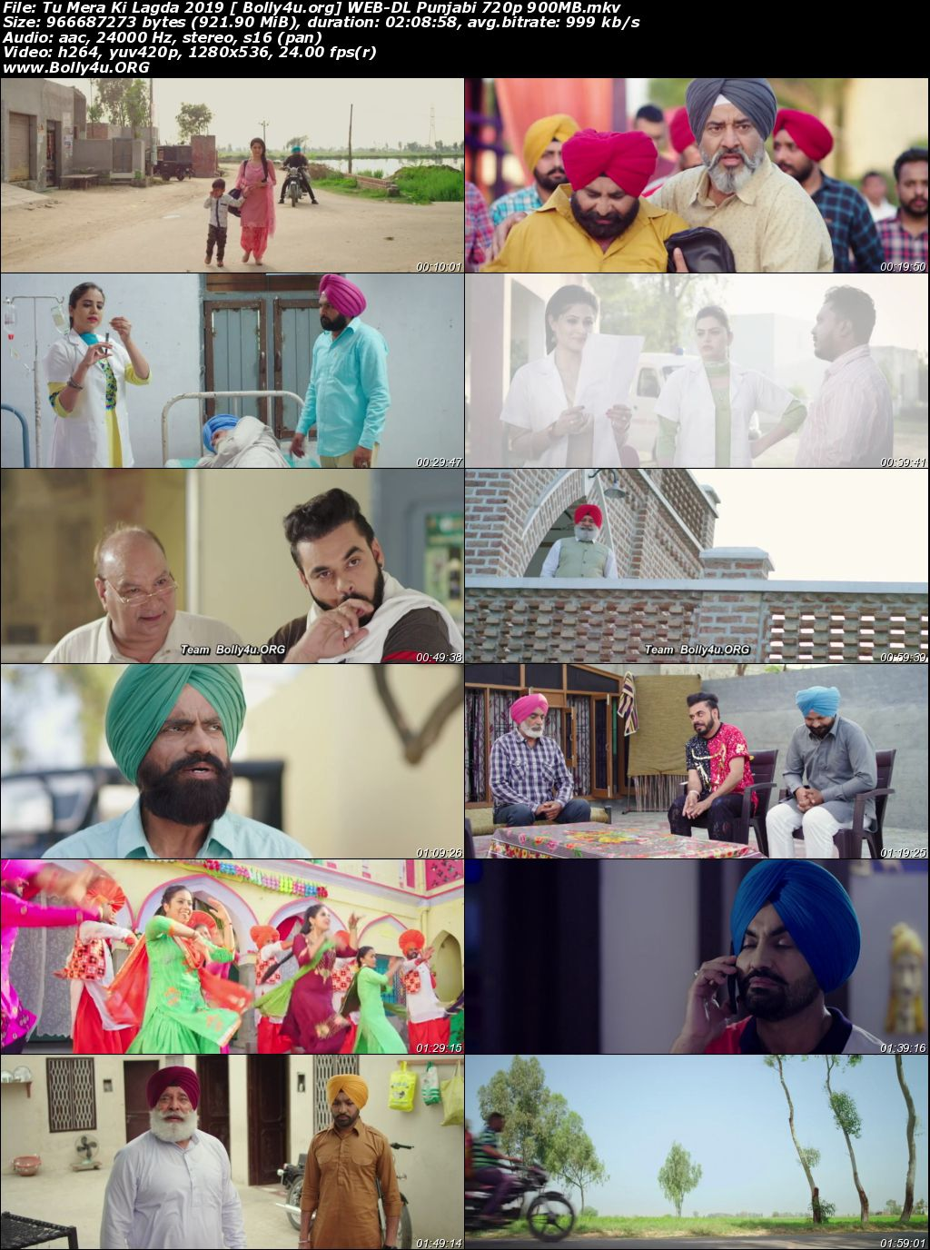 Tu Mera Ki Lagda 2019 WEB-DL 900Mb Punjabi 720p Download