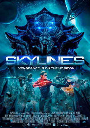 Skylines 2020 WEBRip 350MB English 480p ESub