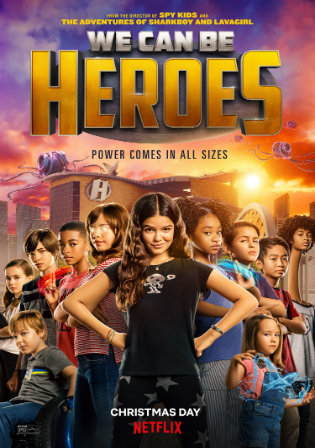 We Can Be Heroes (2020) WEBRip Dual Audio [Hindi DD5.1 & English] 720p & 480p x264 HD | Full Movie