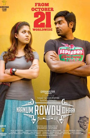 Naanum Rowdy Thaan (2015) UNCUT WEB-DL Dual Audio [Hindi & Tamil] 1080p 720p & 480p [x264/HEVC] HD | Full Movie