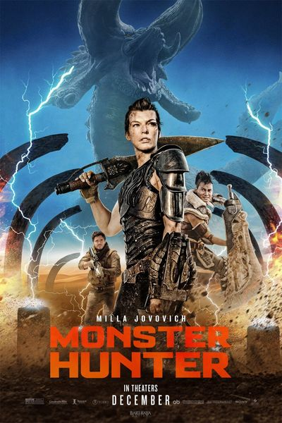Monster Hunter (2020) WEB-DL Hindi (ORG-CLean) 1080p / 720p / 480p x264 [with ADS!] HD | Full Movie