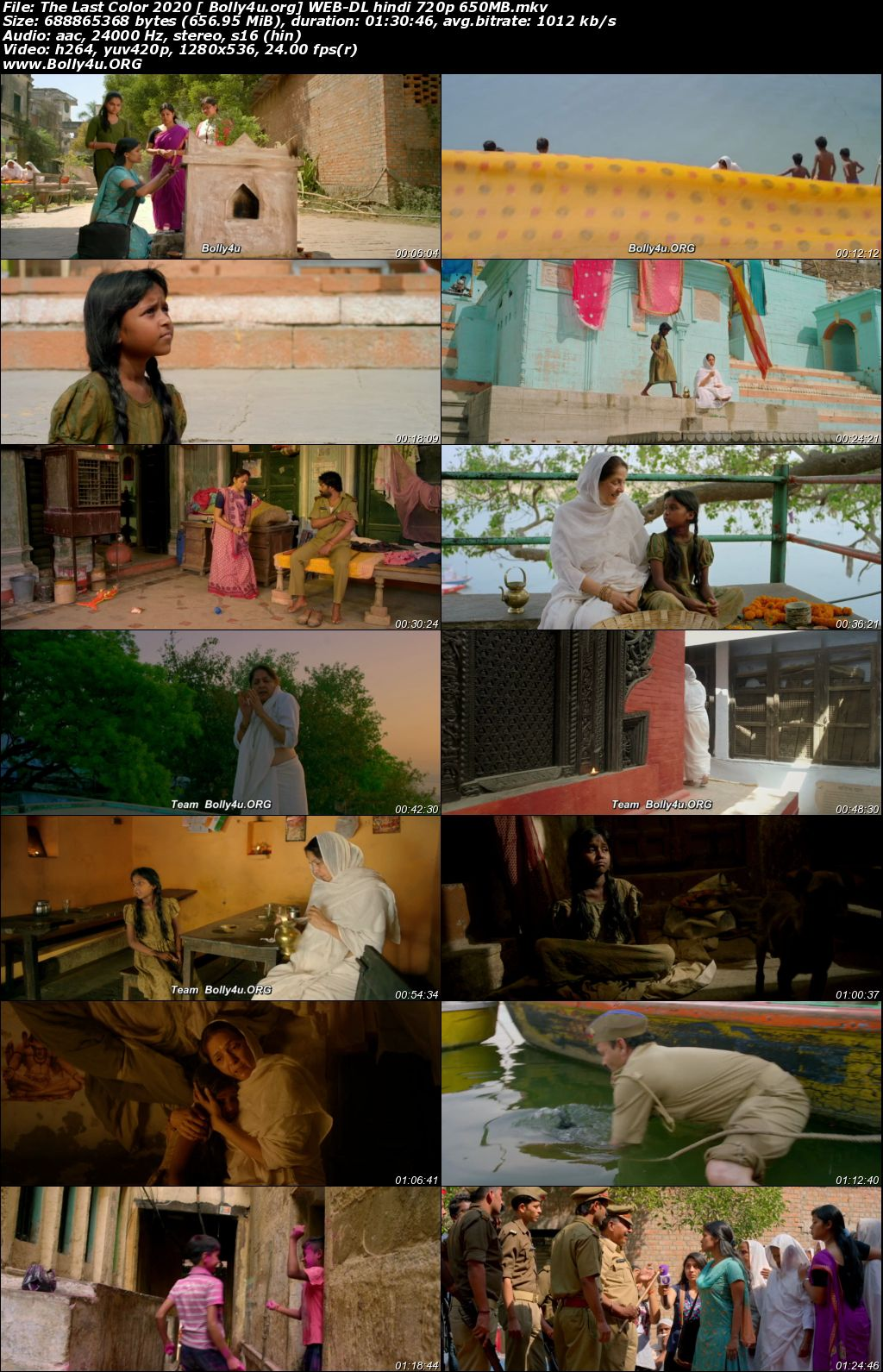 The Last Color 2020 WEB-DL 300MB Hindi Movie Download 480p