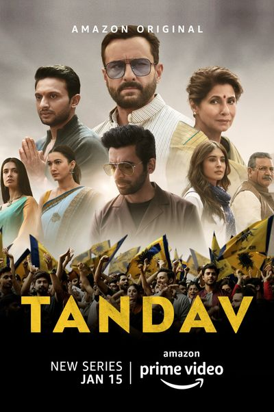 Tandav (Season 1) Complete Hindi WEB-DL 1080p 720p & 480p DD5.1 [x264/HEVC] ESubs HD | ALL Episodes