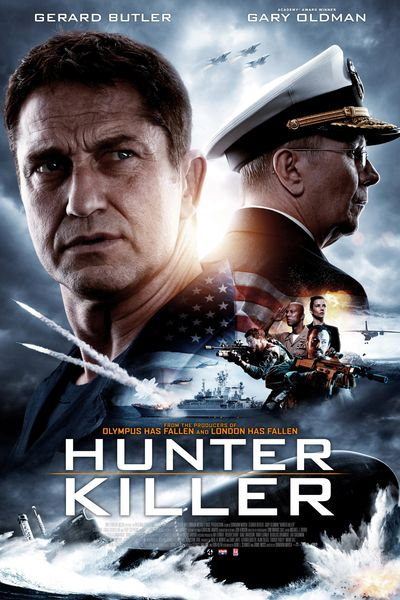 Hunter Killer (2018) BluRay Dual Audio [Hindi (ORG 2.0) & English] 1080p 720p 480p [x264/HEVC] HD | Full Movie