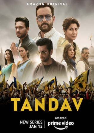 Tandav 2020 WEB-DL 900MB Hindi Complete S01 Download 480p