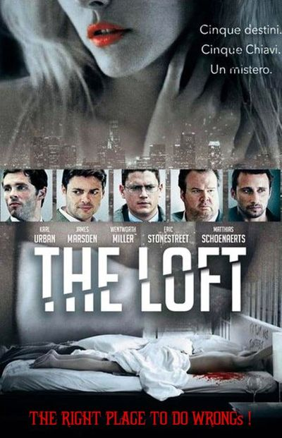 [18+] The Loft (2014) Hindi (HQ Dubbed) BluRay 1080p 720p & 480p x264 [with ADS!] HD | Full Movie