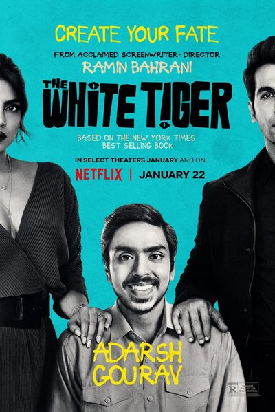 The White Tiger (2021) WEB-DL Hindi DD5.1 1080p 720p 480p x264 HD | Full Movie [NetFlix Film]