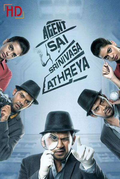 Agent Sai Srinivasa Athreya (2019) UNCUT WEB-DL Dual Audio [Hindi & Telugu] 1080p 720p 480p [x264/HEVC] HD | Full Movie