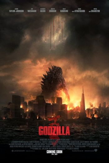Godzilla (2014) BluRay Dual Audio [Hindi (ORG 5.1) & English] 1080p 720p & 480p x264 HD | Full Movie