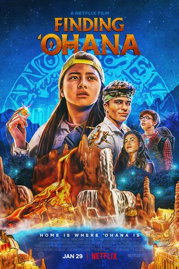 Finding 'Ohana (2021) WEB-DL Dual Audio [Hindi DD5.1 & English] 1080p 720p 480p x264 HD | Full Movie [NetFlix Film]