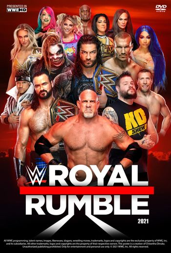WWE Royal Rumble 2021 PPV WEBRip 720p & 480p x264 | Full Show