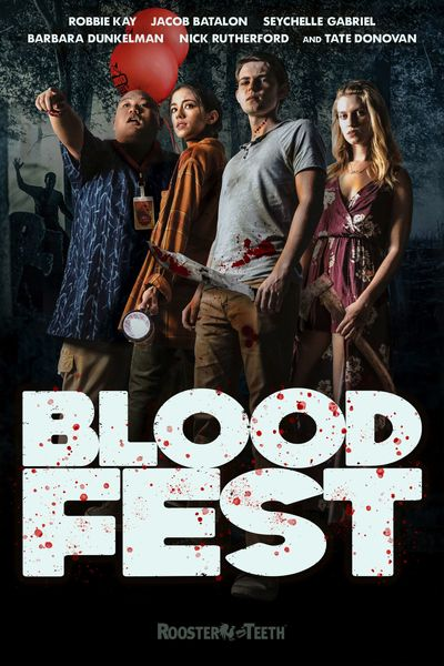 Blood Fest (2018) BluRay Dual Audio [Hindi (ORG 2.0) & English] 720p & 480p x264 HD | Full Movie