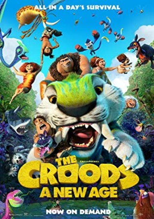 The Croods A New Age 2020 BRRip 300Mb English 480p ESubs