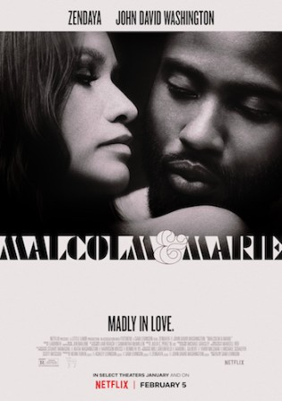 Malcolm and Marie 2021 WEB-DL 300Mb English 480p ESubs