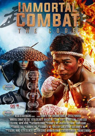 Immortal Combat The Code 2019 WEBRip 900Mb Hindi Dual Audio 720p
